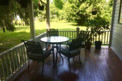 R & L Back Porch