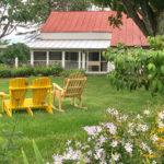 Garden of Farmhouse Tivoli, NY