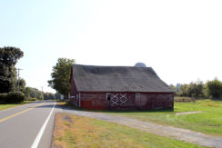 red barn_road