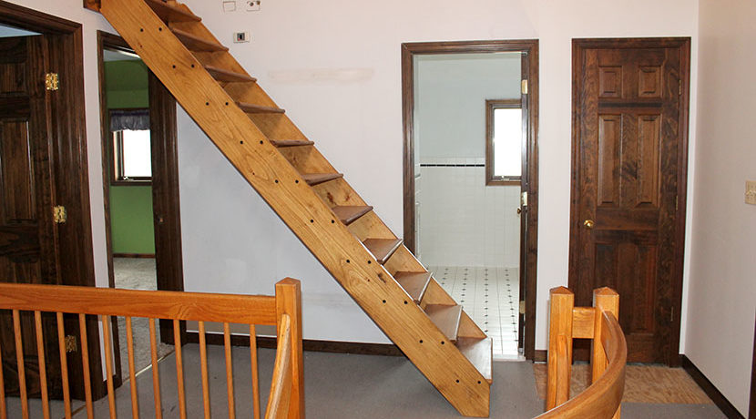 Buhler attic access