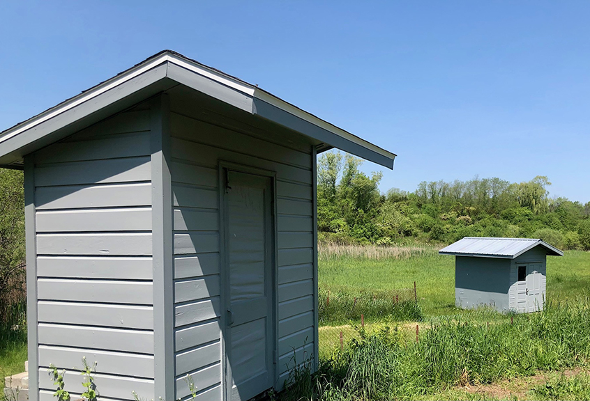 Buhler sheds