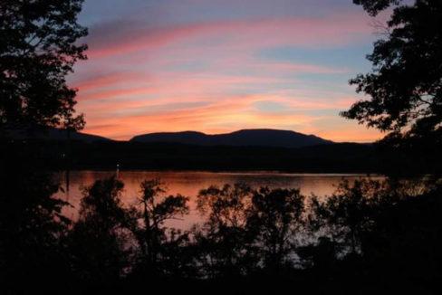 McPadden sunset view