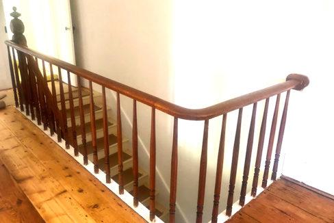 Harte second floor banister